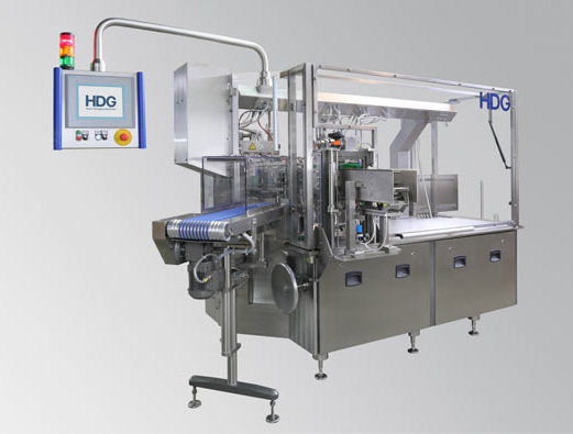 HDG pouch machine