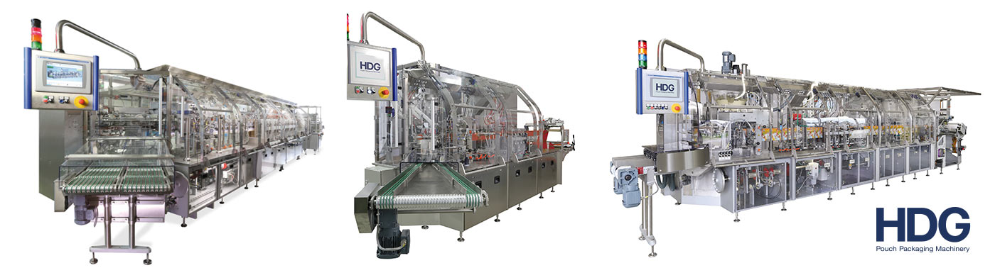 Rotary pouch machinery from HDG